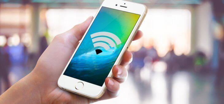 iOS 11 evitara que te conectes de forma automatica a redes wi-fi con mala señal.